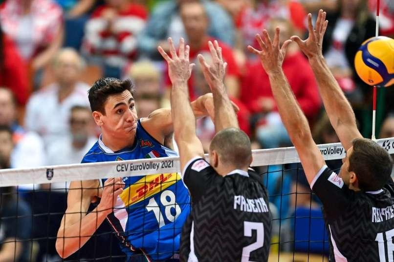 voleibol, Campeonato de Europa, Michieletto Alessandro