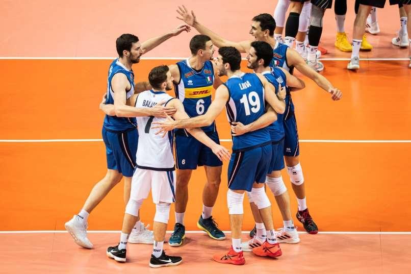 Voleibol, Campeonato de Europa, Katowice, Italia